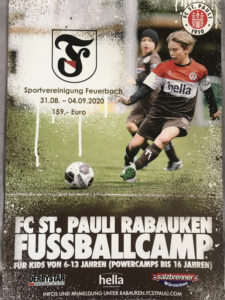 Raubauken FußballCamp des FC St. Pauli